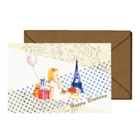 Jolie Poche Greeting Card PST-19