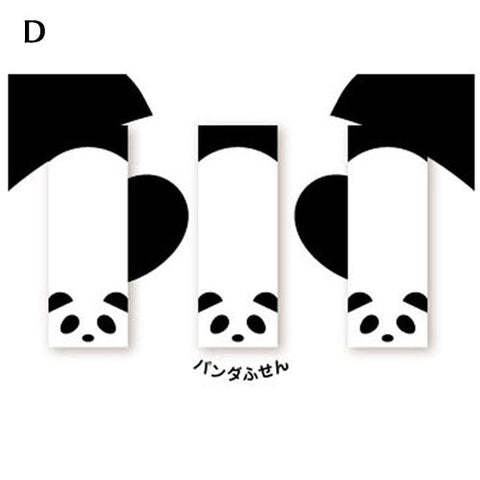 Panda Sticky Book Mark -D-