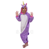 SAZAC SAZAC Purple Unicorn Kigurumi