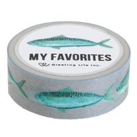 Greeting life Masking Tape My Favorites SDZ-10
