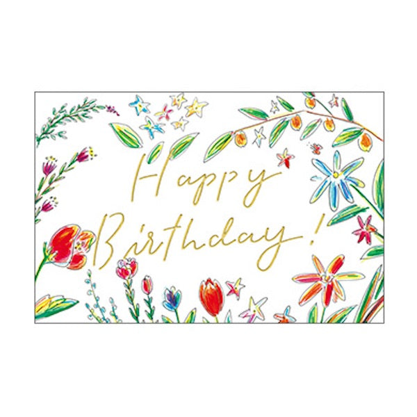 Greeting Life Birthday Card SS-1