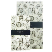 Jolie Poche Wax Paper Bag Square Bottom TYPE S size SWL-03WH