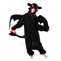 Sazac Toothless Kigurumi from How to Train Your Dragon
