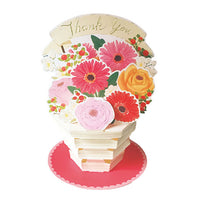 Greeting Life Flower pot Card TK-25