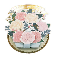 Greeting Life Flower pot Card TK-27