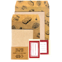 Jolie poche Wax Paper Letter Set M size TWO-07BG