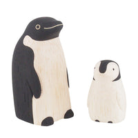 T-lab polepole animal Family Set Penguin