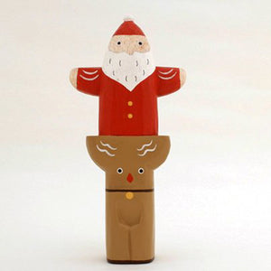 T-lab Holiday totem pole series / Santa Claus reindeer
