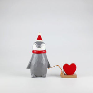 T-lab polepole animal Holiday Santa Claus Penguin Heart
