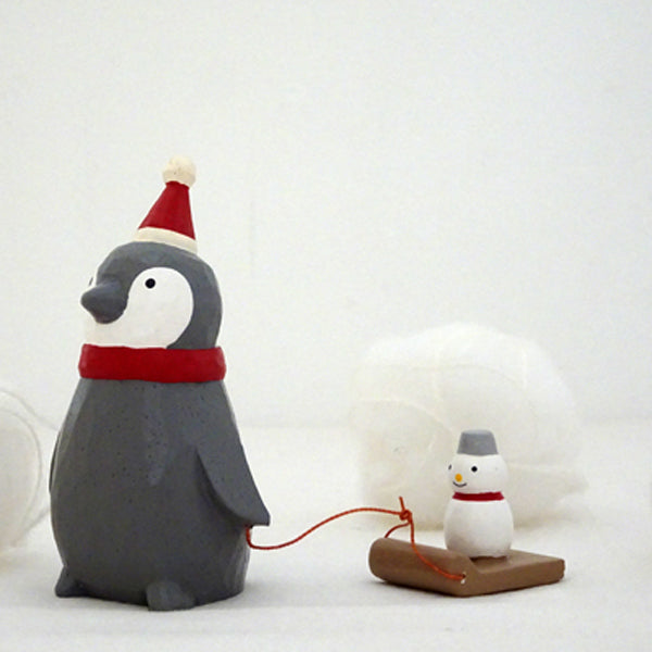 T-lab polepole animal Christmas Santa Claus Penguin Snowman