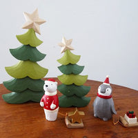 T-lab polepole animal Holiday Santa Claus Polar bear Star