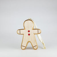T-lab Holiday Nordic Wood Object / Gingerbread Man
