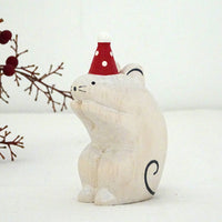 T-lab polepole animal Christmas Mouse