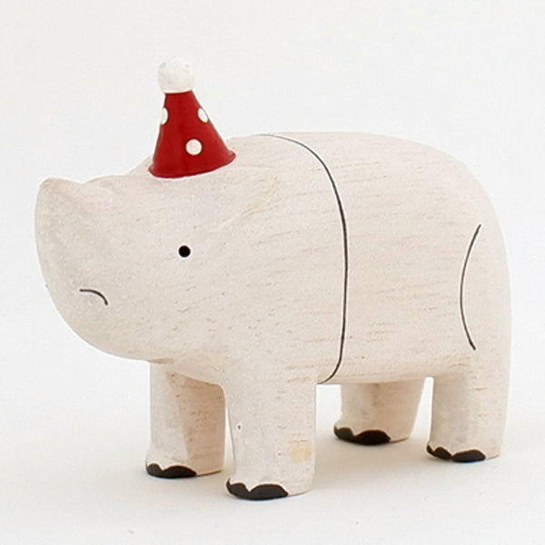 T-lab polepole animal Christmas Rhinoceros
