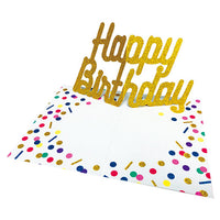 Greeting Life Pop-up Birthday Card YY-3