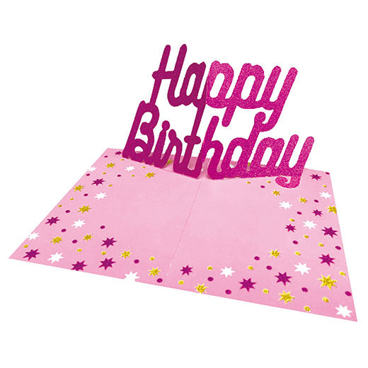 Greeting Life Pop-up Birthday Card YY-4