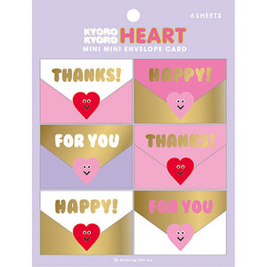 Greeting Life Mini Mini Envelope Card YY-40