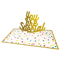 Greeting Life Word Pop-up Message Gift Board YYBS-6
