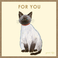 Greeting Life Craft Card Yusuke Yonezu Cat YZ-92