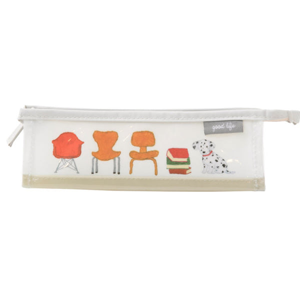 Greeting Life Clear Pen Case YZZ-220