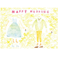 Tegami Wedding Greeting Card