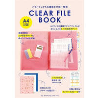 Greeting Life Clear File Book A4 CBZ-17