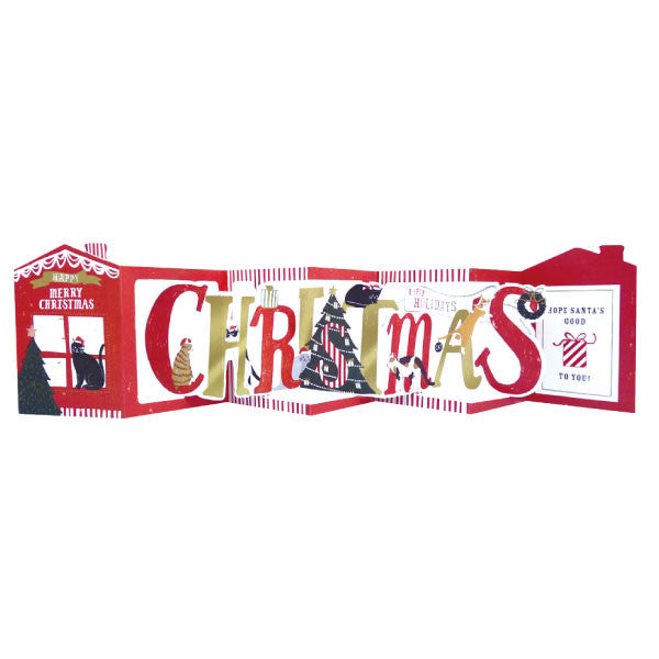 Greeting Life Christmas Signboard Card AT-26