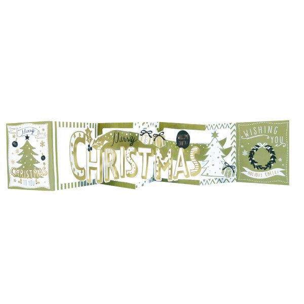 Greeting Life Christmas Signboard Card AT-27
