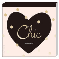 Greeting Life Square Memo Chic Heart ATN-32