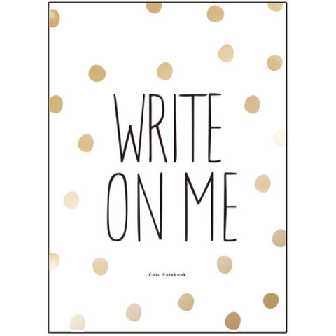 Greeting Life A5 Note Book Chic write on me ATN-34