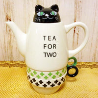 Shinzi Katoh Tea For Two Black Cat