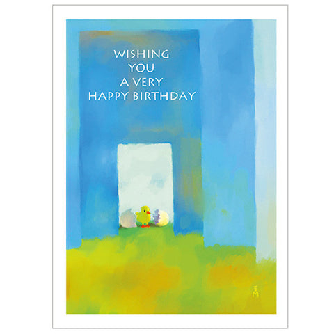 Tegami Birthday Greeting Card