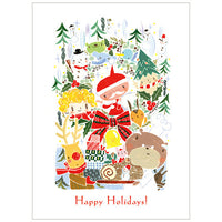 Tegami Holiday Greeting Card