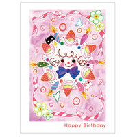 japanwave Tegami Birthday Greeting Card