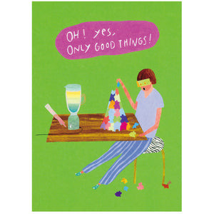 japanwave Tegami All Occasions Greeting Card