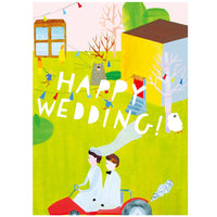 japanwave Tegami Wedding Greeting Card
