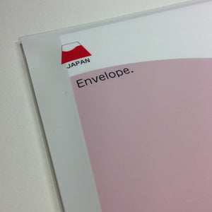 Mount Fuji(Fuji-san)  Envelope Red
