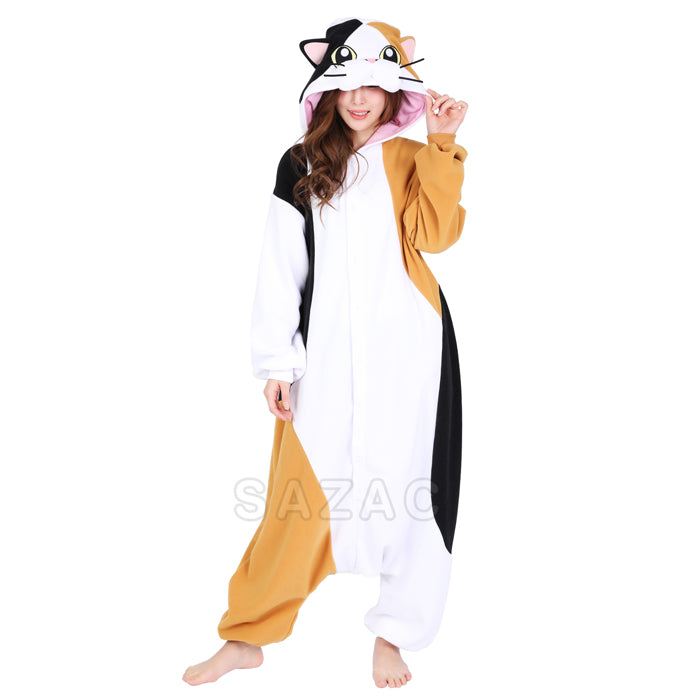 Sazac Calico Cat Kigurumi