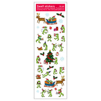 Greeting Life Swell Sticker Frog Holiday CK-48