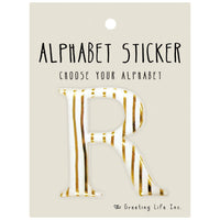 Greeting Life Alphabet Sticker R CK-97