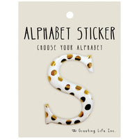 Greeting Life Alphabet Sticker S CK-98