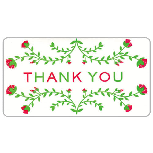Greeting Life Flowers Thank you Card ER-14