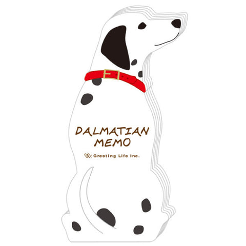Greeting Life Animal Die Cut Memo Dalmatian ETN-110