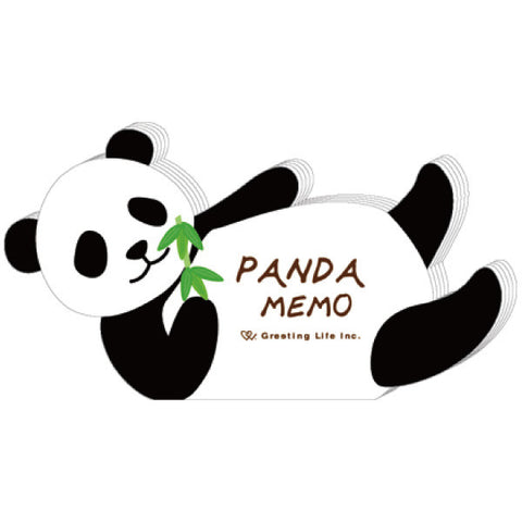 Greeting Life Animal Die Cut Memo Panda ETN-66