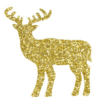 Greeting Life Glitter Sticker Reindeer gold GLCK-8