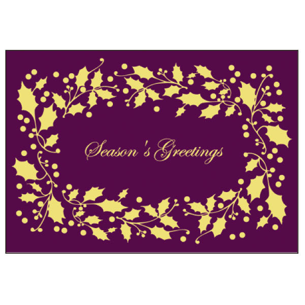 Greeting Life Maniere Christmas Card HA-107