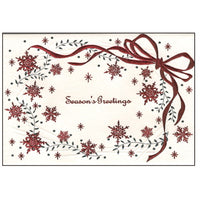 Greeting Life Maniere Christmas Card HA-32