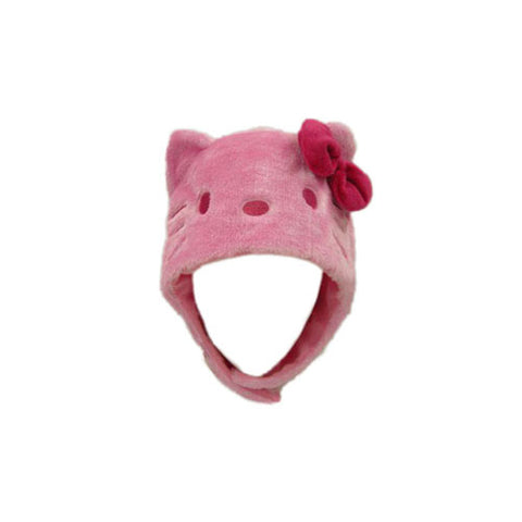 SAZAC Hello Kitty Pink Kigurumi Cap