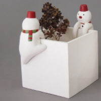 T-lab polepole animal Christmas Snowman