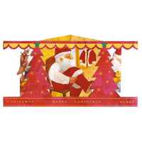 Greeting Life Story Box Pop Up Christmas Card HT-1